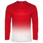 Boys 100% Polyester OMBRE Long Sleeves Youth Longsleeves