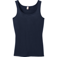 Women's 100% Cotton Tank Tops Anvil 882L