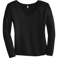Women's 100% Polyester Long Sleeves District Threads DM413