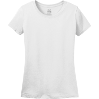 Women's 100% Cotton T-Shirts Fruit Of The Loom L3930