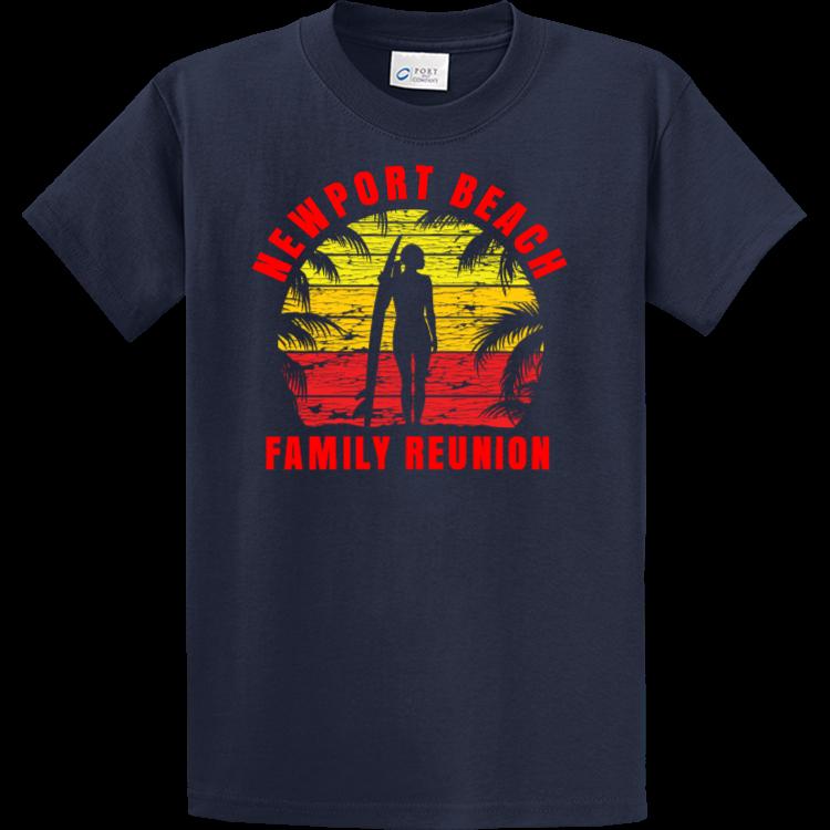 Beach family reunion t shirts for Family reunion t shirt printing