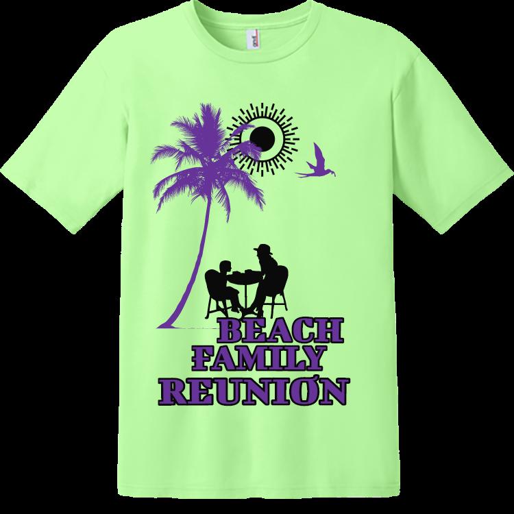 Beach family reunion t shirts111 for Family reunion t shirt printing