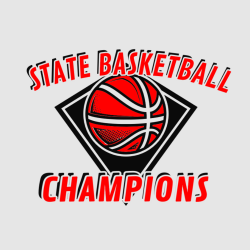State Basketball Champions Wolves T-shirts