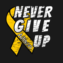 childhood cancer t shirts