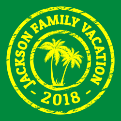 Vacations T Shirt Designs