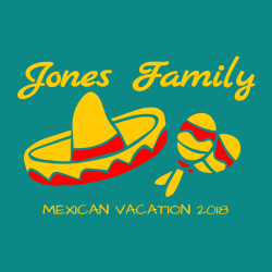 Family Vacations T Shirt Designs