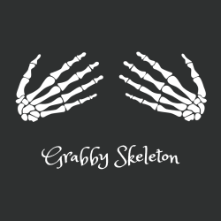 Grabby Skeleton T-shirts