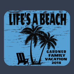 Life's A Beach Family Vacation T Shirt