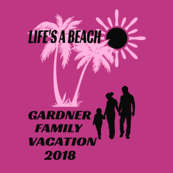 Life's A Beach Family Vacation T-Shirts