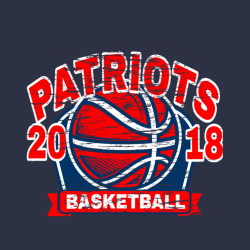 Patriots Basketball Team T Shirts