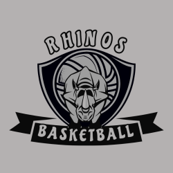 Rhinos Basketball Team T Shirts