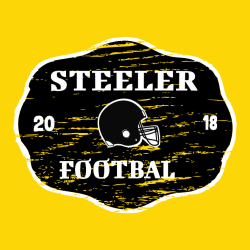 Steeler Football T Shirt
