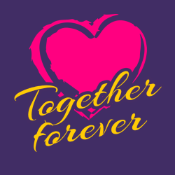 Together Forever - Anniversary T-shirts
