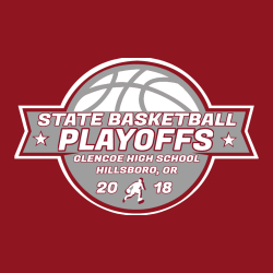 Crimson Tide Basketball Playoffs - Basketball T-shirts