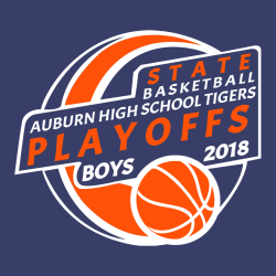Tigers Basketball Playoffs - Basketball T-shirts