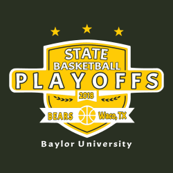 Bears Basketball Playoffs - Basketball T-shirts