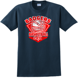 Badgers Basketball Team T Shirts