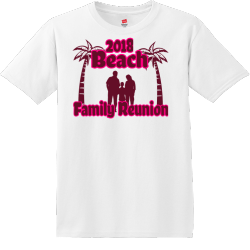 Beach Family Reunion T Shirts1111