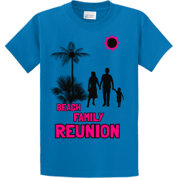 Beach Family Reunion T Shirts1