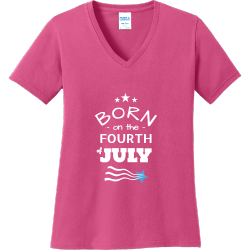 Born On The 4th Of July T-shirts