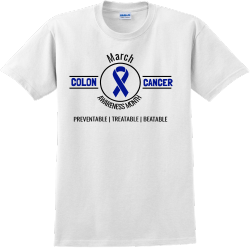 colon cancer t shirts