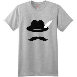 Cool Moustache Hat Oktoberfest T Shirts