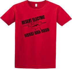 design ideas electric contractor t shirts - Company T Shirt Design Ideas