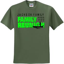 Family Reunions T Shirt Designs Designs For Custom Family Reunions