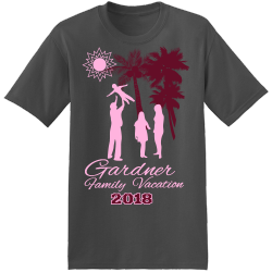 Family Beach Vacations T Shirts