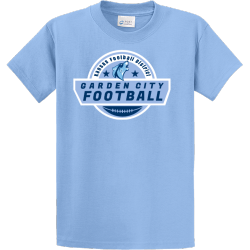 Football-Team Men's 100% Cotton T-Shirts Port And Company PC61