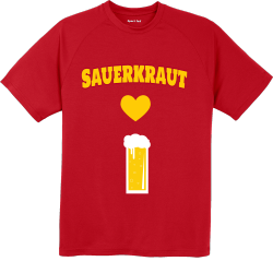 German Sauerkraut T Shirts