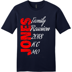 Family Reunion Distressed T Shirts