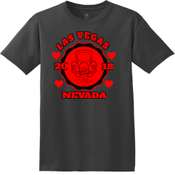 Just Married Las Vegas T Shirts