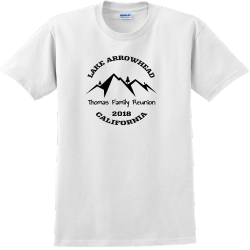 Lake Arrowhead Family Reunion T Shirts