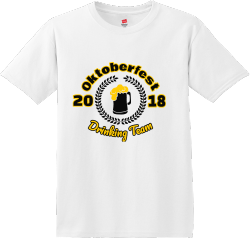 Oktoberfest Drinking Team T Shirts