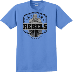 Rebels Basketball Team T Shirts