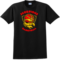 Scorpions Basketball Team T Shirts