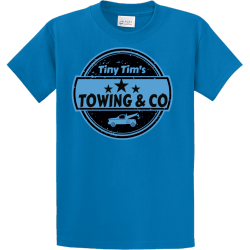 Towing-Company-T-Shirts Men's 100% Cotton T-Shirts Port And Company PC61