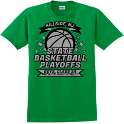 Celtics Basketball Playoffs - Basketball T-shirts