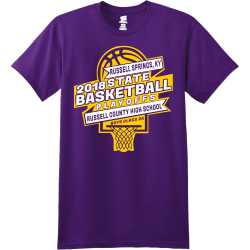 Lakers Basketball Playoffs - Basketball T-shirts