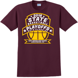 Sun Devils Basketball Playoffs - Basketball T-shirts