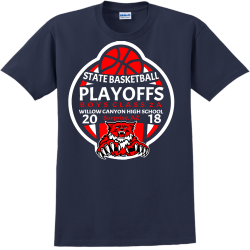 Wildcats Basketball Playoffs - Basketball T-shirts