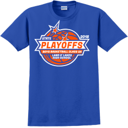 Gators Basketball Playoffs - Basketball T-shirts
