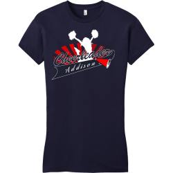 cheerleading t shirts Junior's 100% Cotton T-Shirts District Threads DT6001