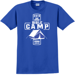 church camp t shirts designs Adult 100% Cotton T-Shirts Gildan 2000