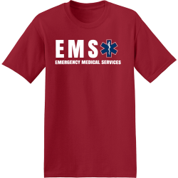 ems-shirt-designs-t-shirtsMen's 50/50 Cotton/Polyester T-Shirts Hanes 5170