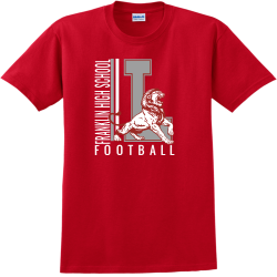 Football t shirt designs designs for custom football t for High school football shirts