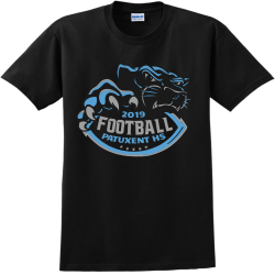 patuxent hs football 2019 teamwear t shirts