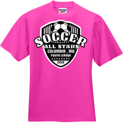All Star Soccer - Soccer T-shirts