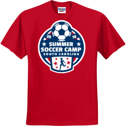 soccer camp shirt designs t shirts